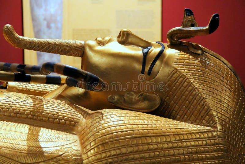 Máscara de Tutankhamun foto de archivo libre de regalías