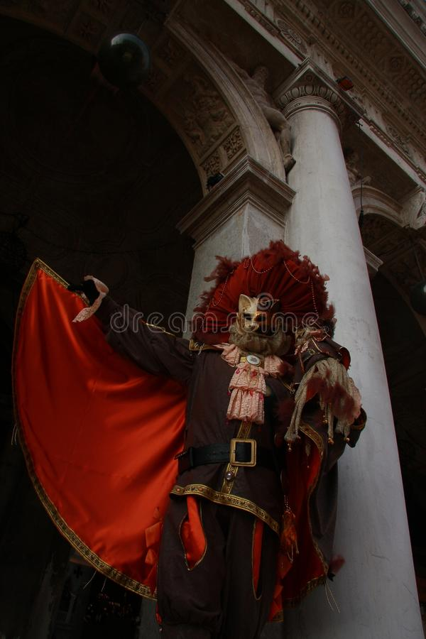 Máscara de Venecia fotografía de archivo