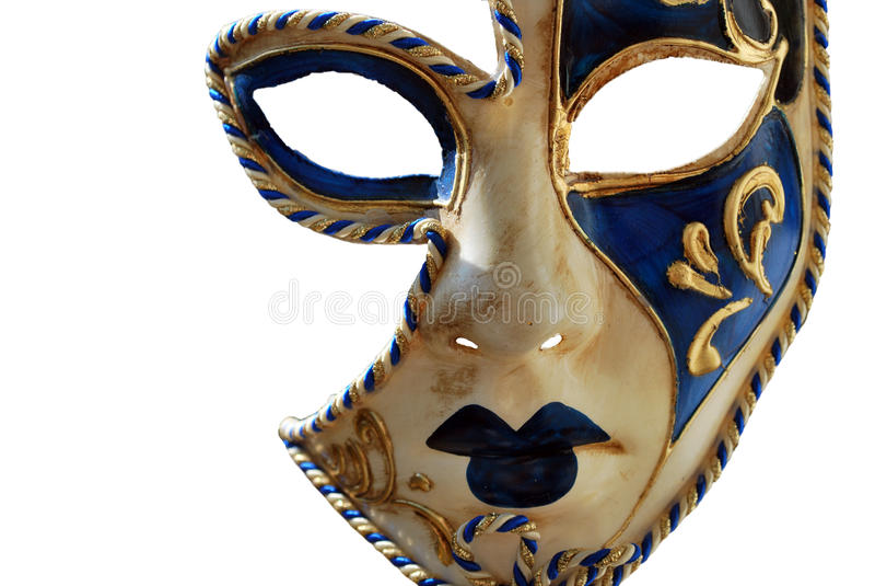 Máscara de Venecia Carneval imagenes de archivo