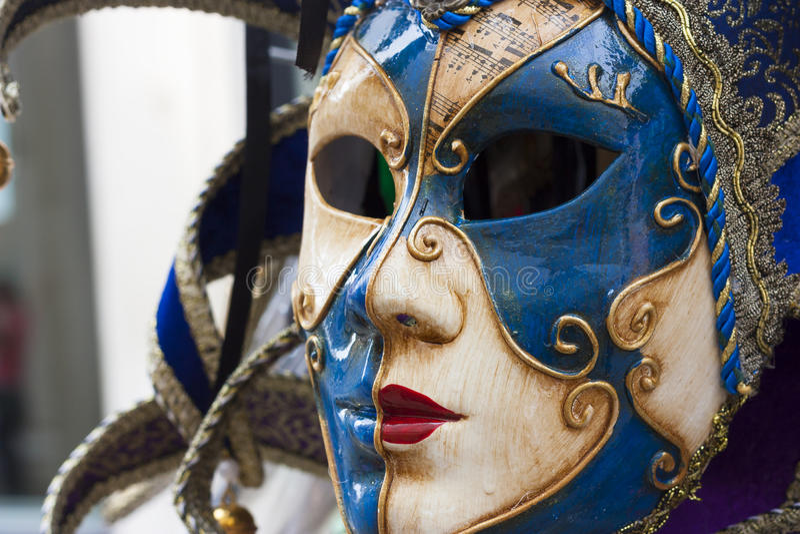 Máscara de Venecia, Italia foto de archivo libre de regalías