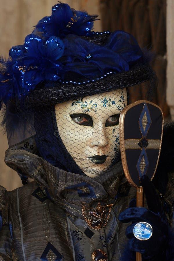Máscara 5 de Veneza imagem de stock royalty free