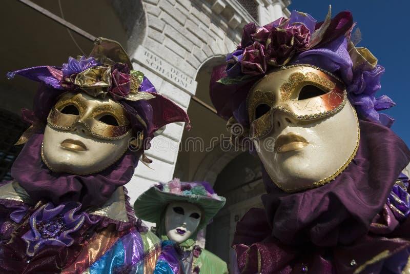 Máscara de Veneza foto de stock