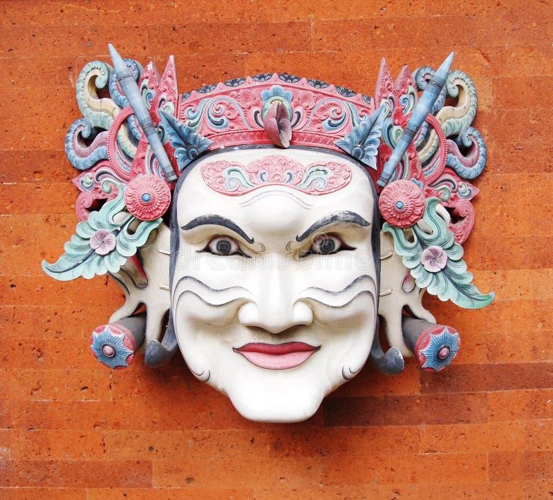 Máscara del Balinese, tradicional imágenes de archivo libres de regalías