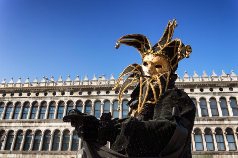 Máscara del carnaval en Venecia foto de archivo libre de regalías