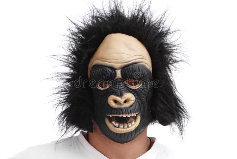 Máscara del gorila fotografía de archivo libre de regalías