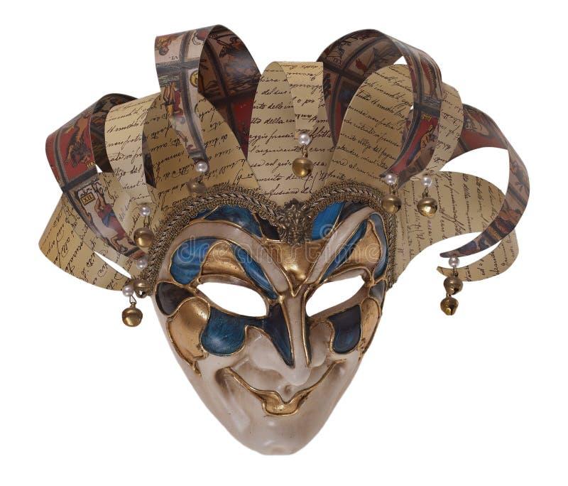 Máscara del Harlequin fotografía de archivo libre de regalías