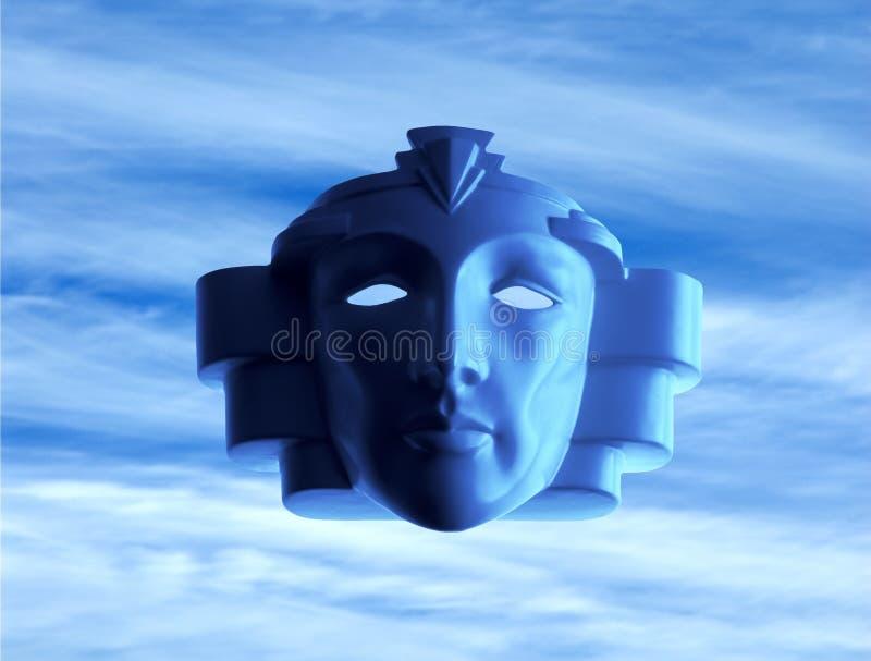 Máscara del mal imagen de archivo libre de regalías