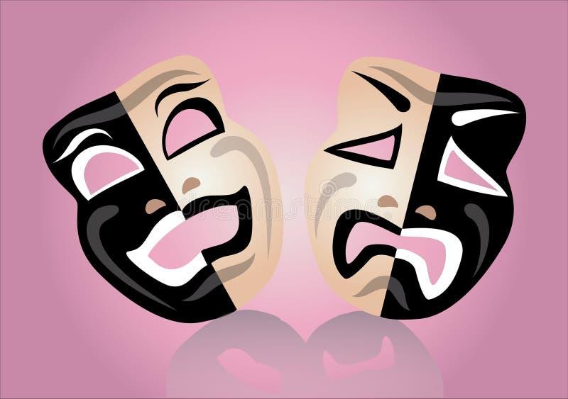 Máscara del teatro libre illustration