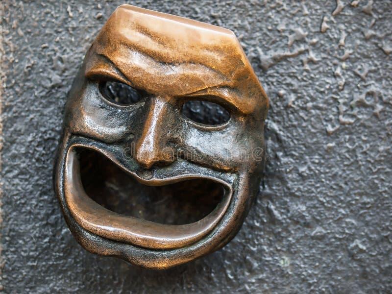 Máscara del teatro fotos de archivo