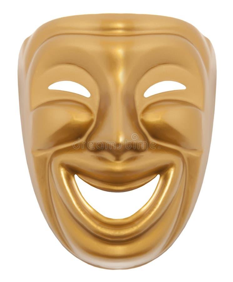Máscara del theatrical de la comedia fotos de archivo