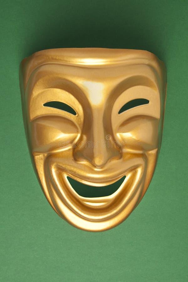 Máscara del theatrical de la comedia foto de archivo