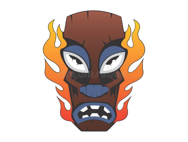 Máscara del vudú fotos de archivo libres de regalías