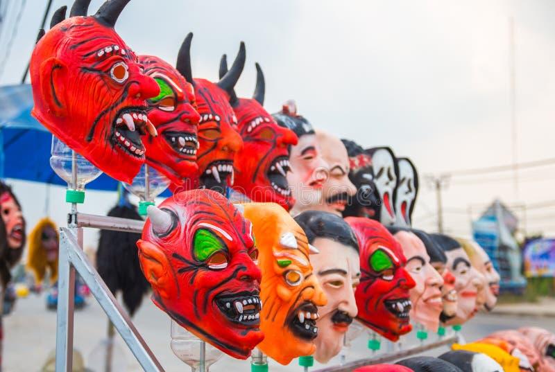 A máscara Dia das Bruxas imagem de stock