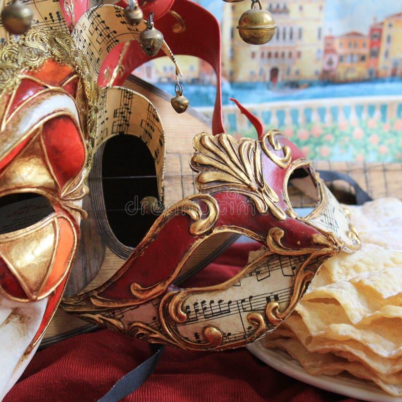 Máscara do carnaval imagem de stock