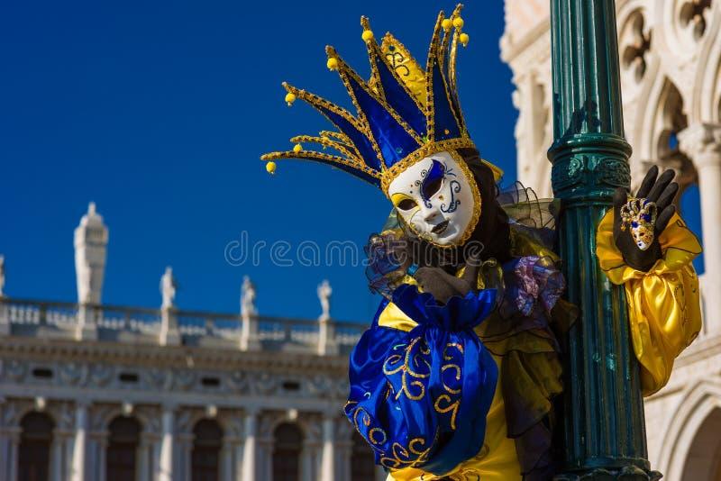 Máscara do carnaval de Veneza fotografia de stock royalty free