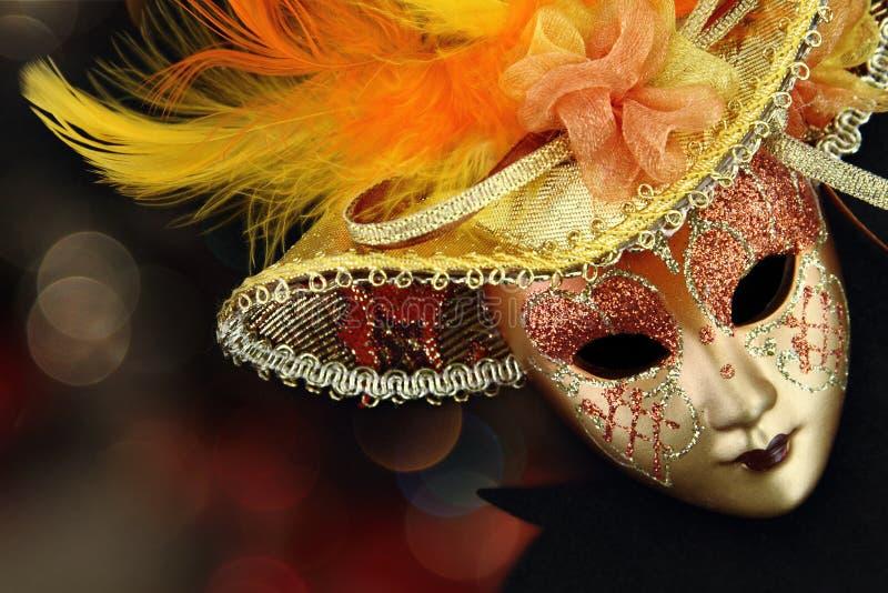 Máscara do carnaval do vintage imagens de stock