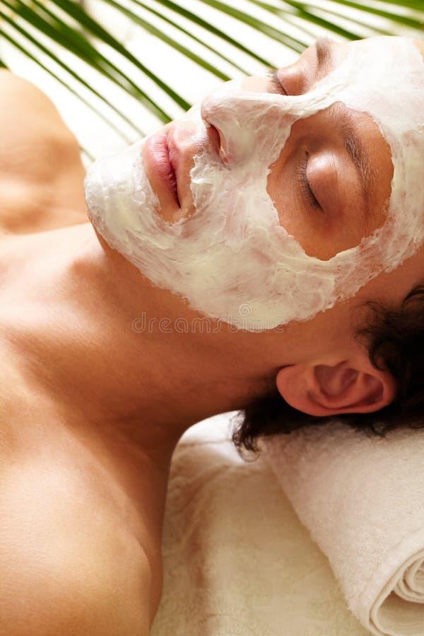 Máscara do esclarecimento foto de stock