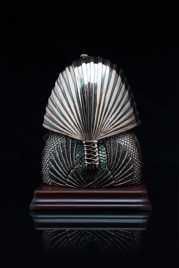 Máscara do faraó fotografia de stock