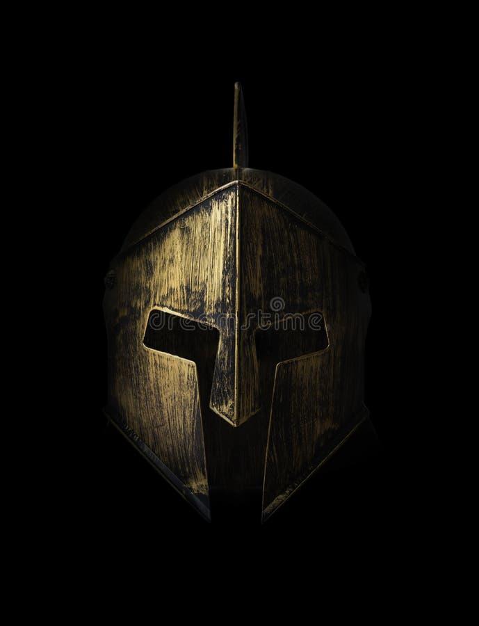 Máscara do gladiador fotografia de stock