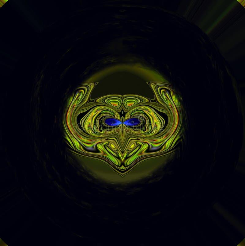 Download Máscara do herói ilustração stock. Ilustração de projeto - 103569