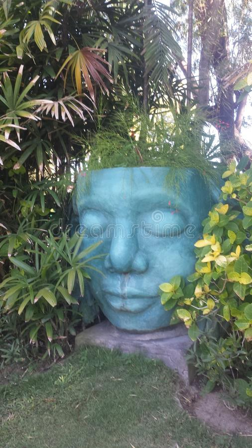 Máscara do jardim fotos de stock