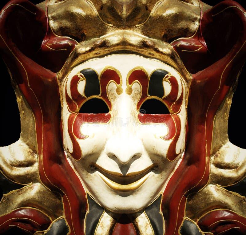 Máscara do Jester fotos de stock royalty free