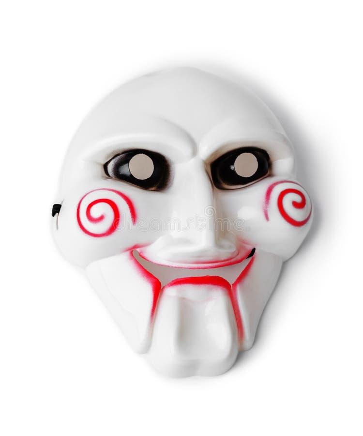 Máscara do maníaco imagem de stock