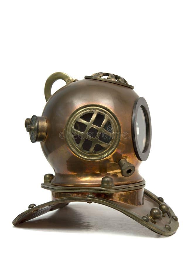 Máscara do mergulho do vintage imagens de stock