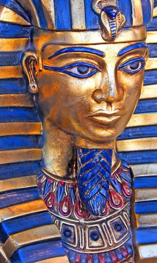 Máscara egipcia del tut del rey foto de archivo libre de regalías