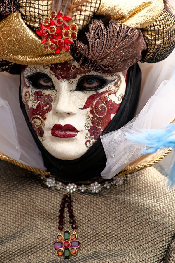 Máscara elegante de Veneza, carnaval. foto de stock royalty free