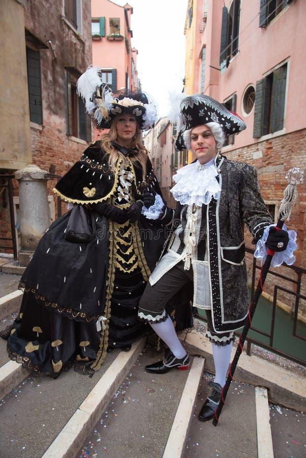 Máscara em Veneza, Italy fotos de stock