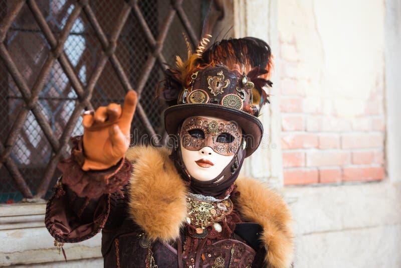 Máscara em Veneza, Italy imagem de stock