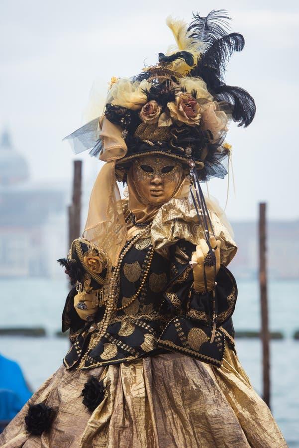 Máscara em Veneza, Italy foto de stock royalty free