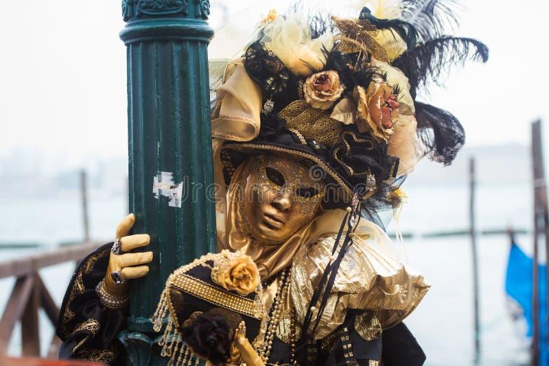 Máscara em Veneza, Italy imagens de stock royalty free