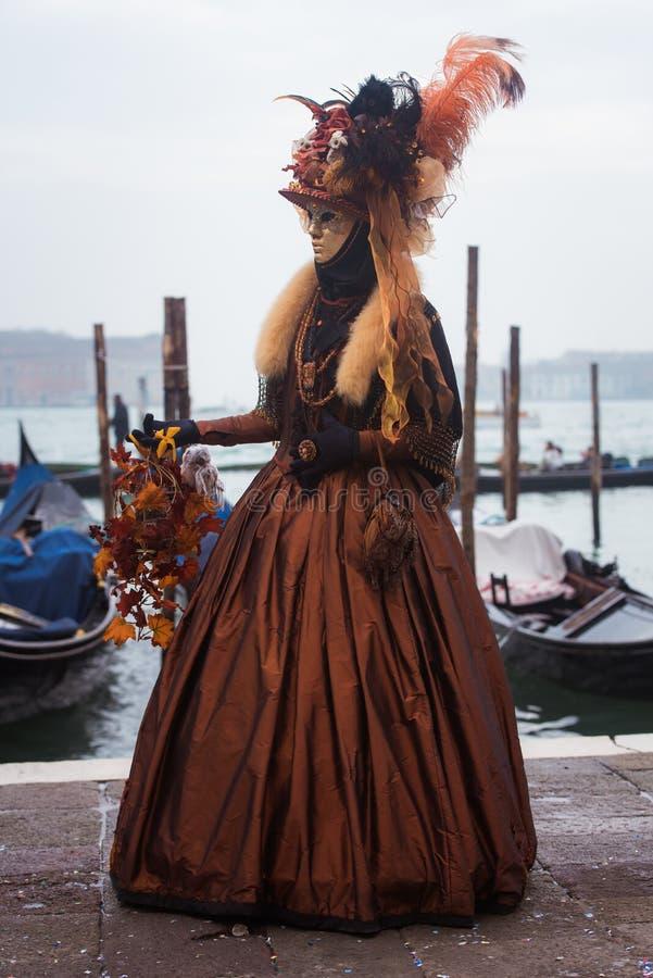 Máscara em Veneza, Italy imagem de stock royalty free