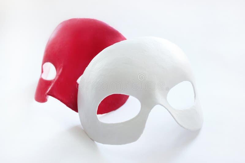 Máscara en la cara fotos de archivo
