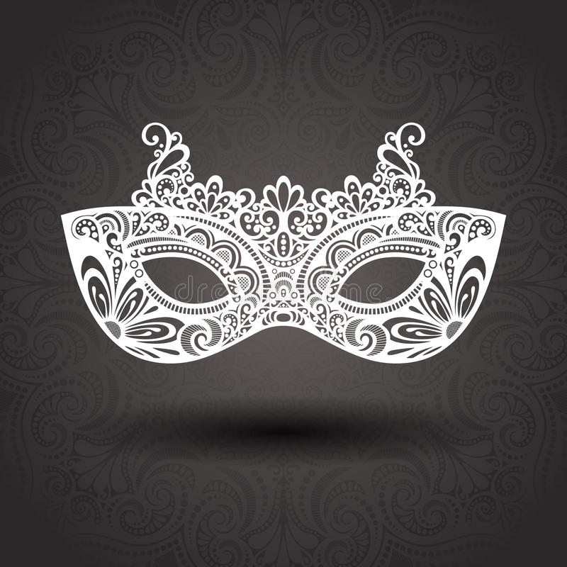 Máscara hermosa de la mascarada (vector) libre illustration