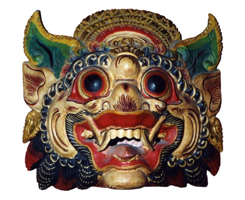 Máscara indonésia imagens de stock