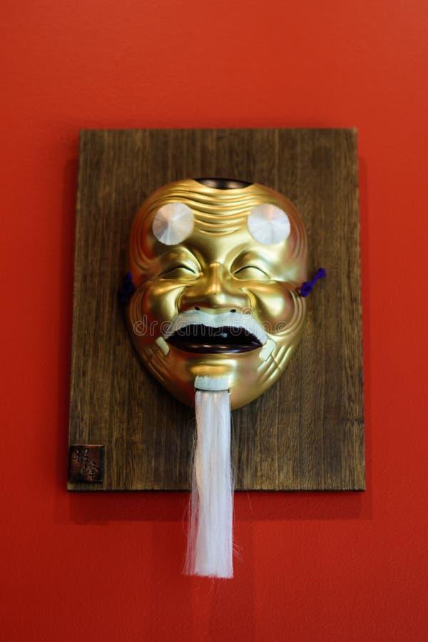 Máscara japonesa del diablo imagen de archivo libre de regalías