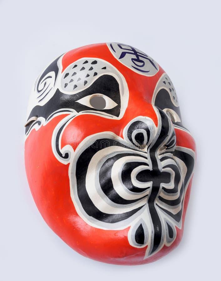 Máscara japonesa del teatro del vintage tradicional foto de archivo libre de regalías