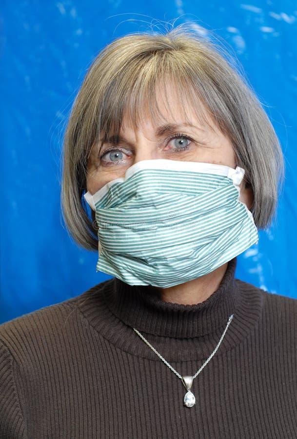 Máscara médica fotos de archivo