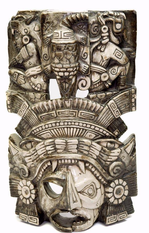 Máscara maia 4 imagem de stock royalty free