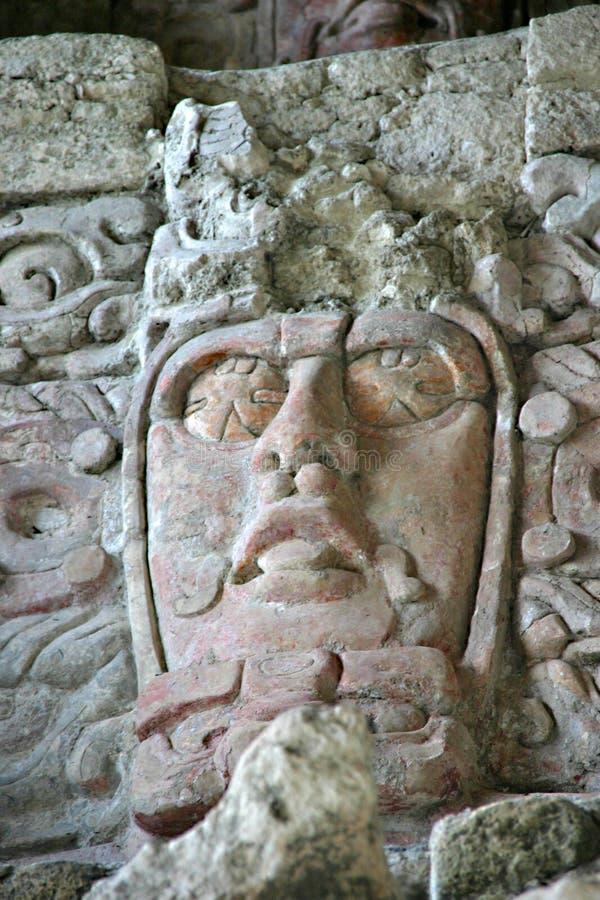 Máscara maia imagem de stock