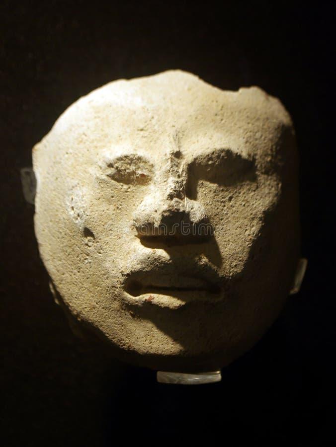 Máscara maia impar fotografia de stock royalty free