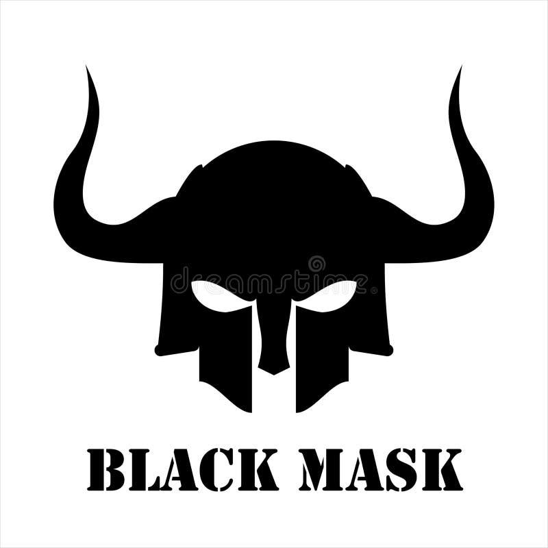 Máscara negra, guerrero libre illustration