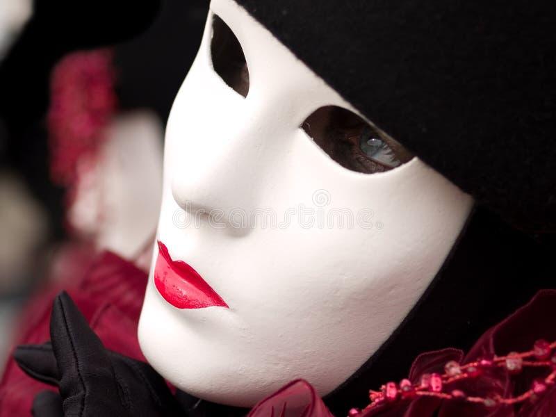 Máscara no carnaval de Veneza imagens de stock