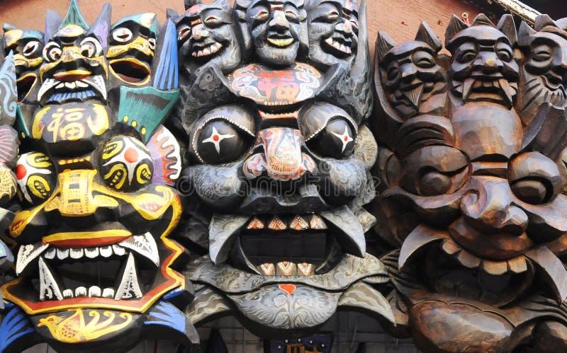 Máscara para Halloween imagens de stock
