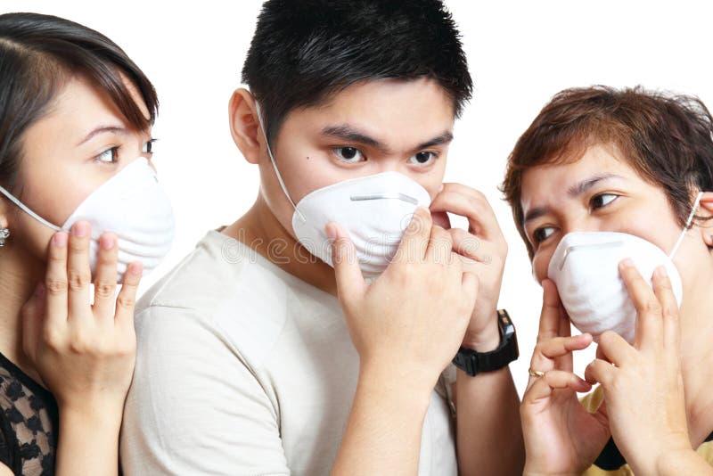 Máscara protectora foto de archivo