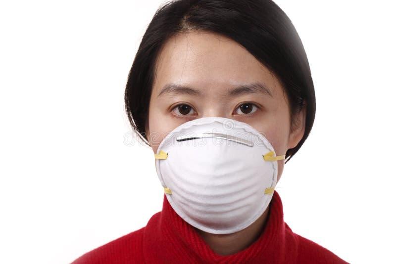 Máscara protectora foto de stock