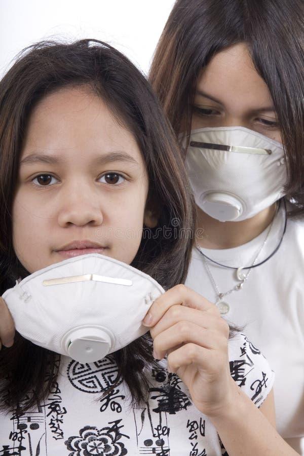 Máscara protectora fotos de archivo libres de regalías